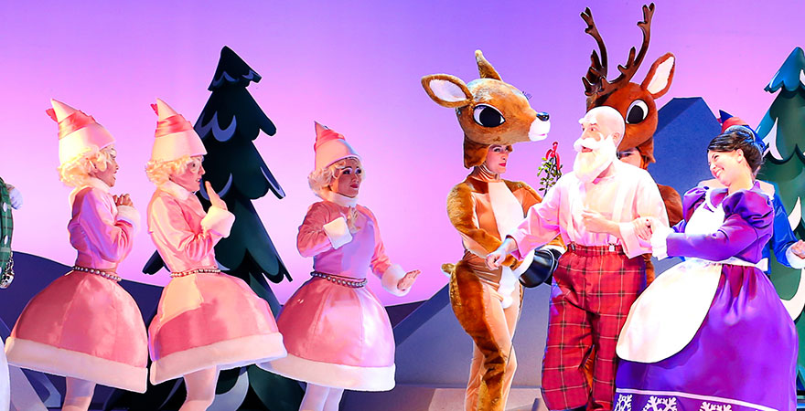Rudolph Christmas Movie Characters.State Theatre New Jersey Official Site