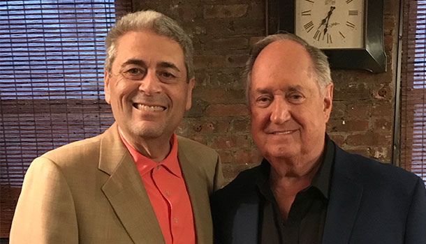 Scott Fergang and Neil Sedaka