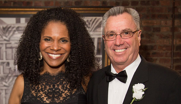 Audra McDonald and Ron Rios