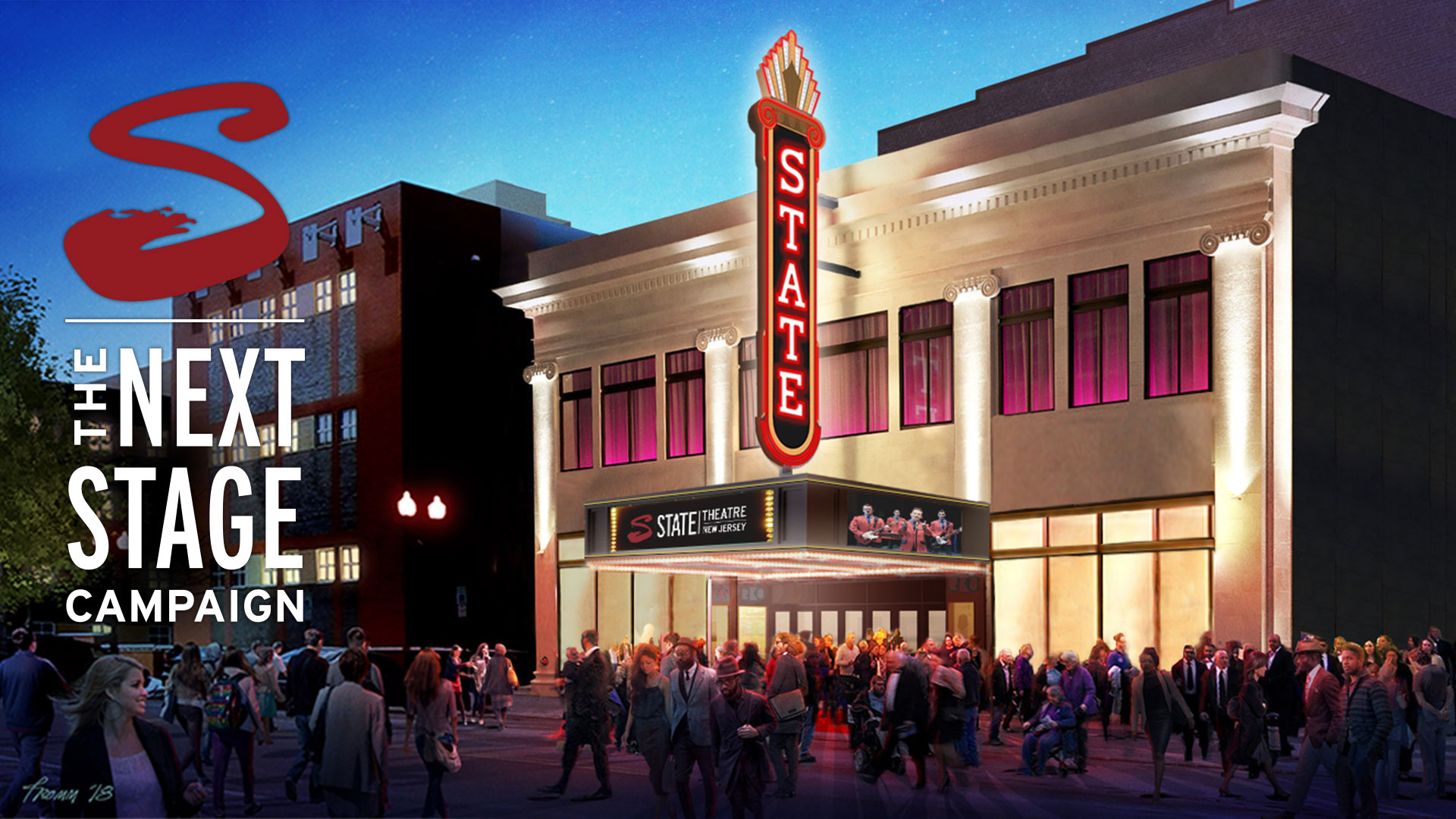 State Theatre Facade Rendering
