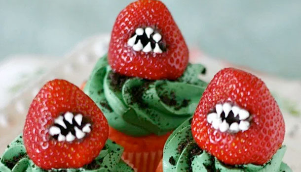 Little Shop of Horror Cupcakes
