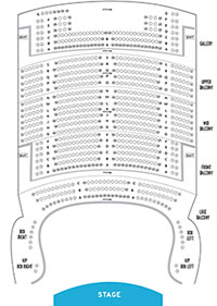 State Theatre New Jersey Balcony Seat Map