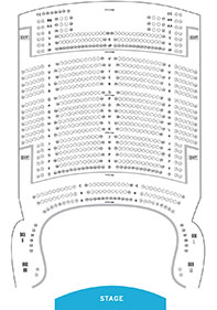 State Theatre New Jersey Seat Map 2 Balcony